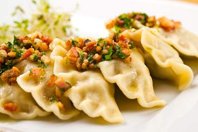 Dumplings with veal